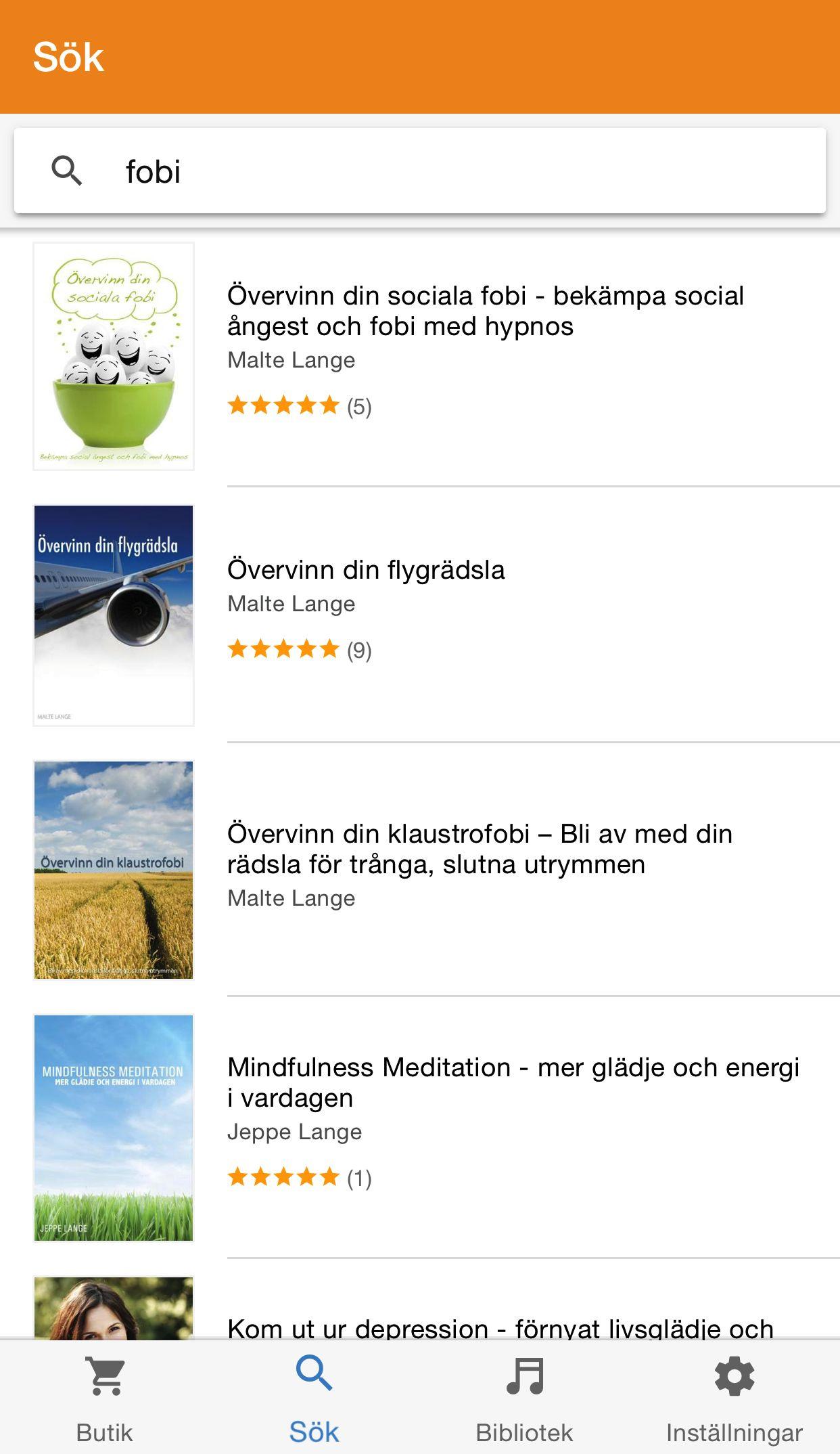 ljudböcker app gratis