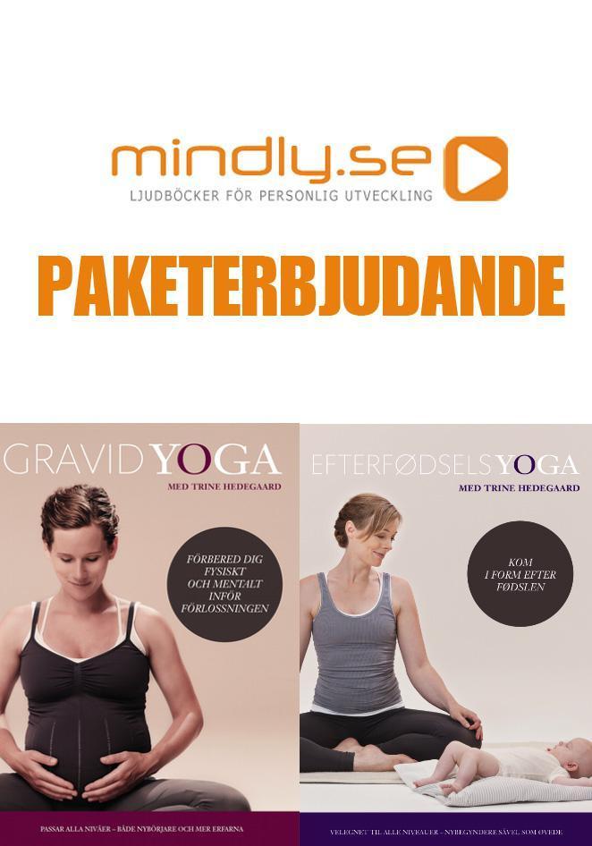 mindly.se Gravidyoga DVD + Yoga för Mammor (Paketerbjudanden)