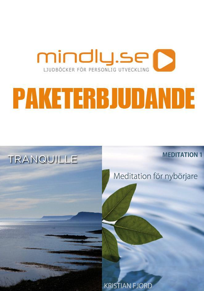 mindly.se Meditation 1 + Tranquille (Paketerbjudande)