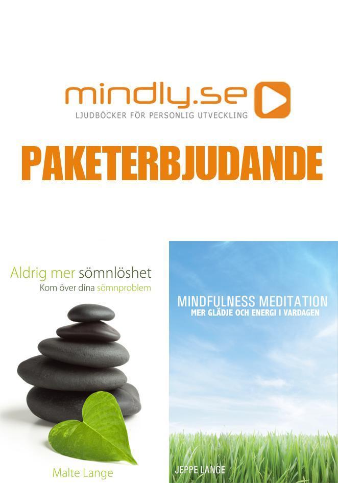 Aldrig mer Sömnlöshet + Mindfulness Meditation (Paketerbjudande)