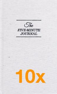 10 x The Five Minute Journal (Paketerbjudanden)