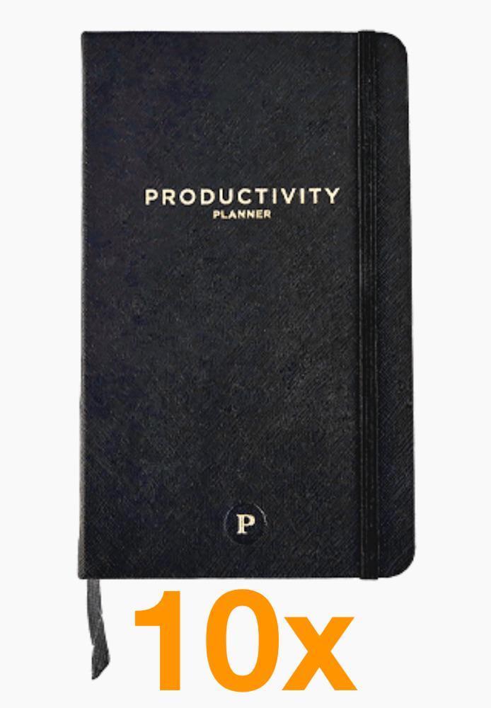 10 x Productivity Planner (Paketerbjudanden)
