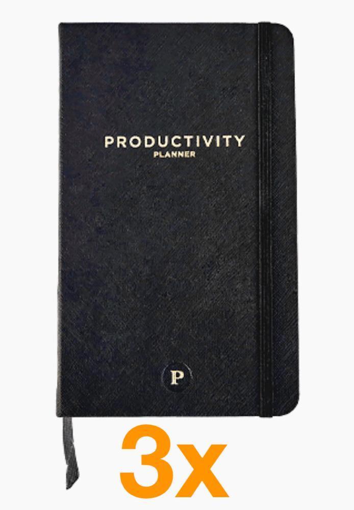 3 x Productivity Planner (Paketerbjudanden)