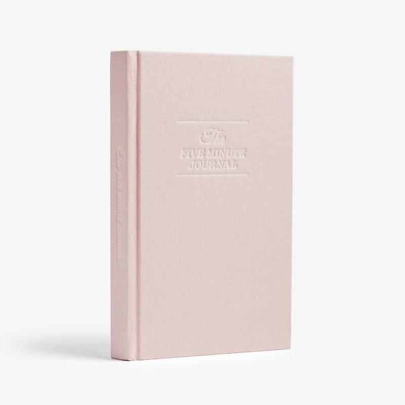 Böcker The Five Minute Journal (Blush)